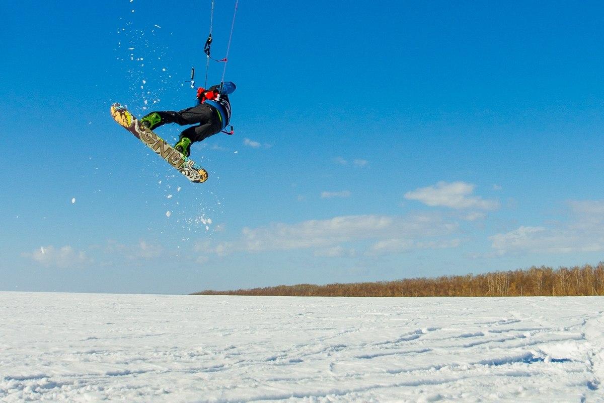 Обучение сноукайтингу. Сноукайтинг в Самаре.